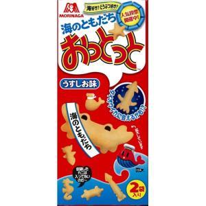商品名:森永 おっとっと うすしお味 箱 54g(27g×2袋入) JANコード:490288821...