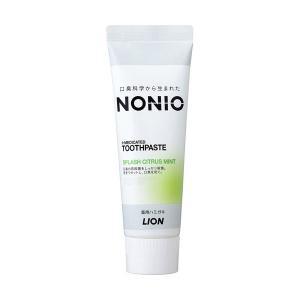 【お一人様1個限り特価】NONIO(ノニオ) ハミガキ スプラッシュシトラスミント 130g
