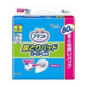 【お一人様1個限り特価】 大王製紙 アテント 尿とりパッド スーパー吸収 男性用 80枚入|himejiryutsuu