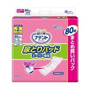 【お一人様1個限り特価】 大王製紙 アテント 尿とりパッド スーパー吸収 女性用 80枚入|himejiryutsuu