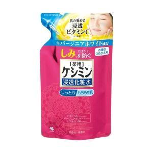【お一人様1個限り特価】 薬用ケシミン浸透化粧水 しっとりもちもち肌 つめかえ用 140ml