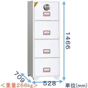 テンキー式耐火ファイリングキャビネット DFC4000R3|himejiya