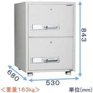 耐火キャビネット(DSF680-2K) メーカー:ダイヤセーフ|himejiya