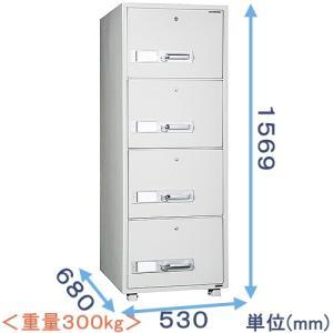 耐火キャビネット(DSF680-4K) メーカー:ダイヤセーフ|himejiya