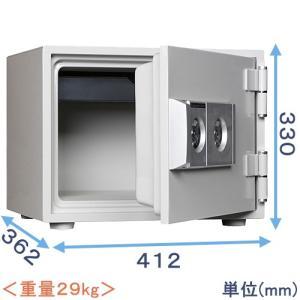金庫 小型 家庭用 2キー式耐火金庫(DW30-1)|himejiya