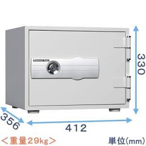 金庫 小型 家庭用 1キー式耐火金庫 H30|himejiya