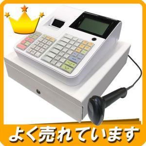 レジスター JET-670 ハンドスキャナー付き・バーコード対応【もれなく!レジペーパー5巻プレゼント中!】