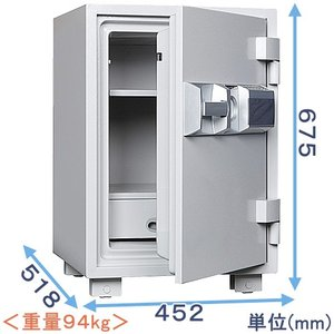 テンキー式耐火金庫(MEK68-DX)|himejiya