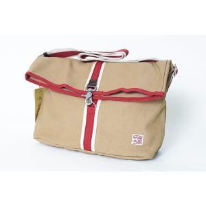 ショルダーバッグ 帆布工房 口折れ 3x34  斜め掛けバッグ 男女兼用|himeka-wa-samue|02