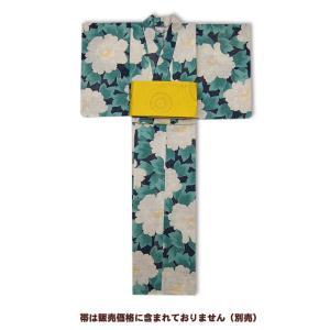 岡重-浴衣(ゆかた)仕立て上がり  牡丹 60Y-13|himeka-wa-samue