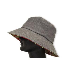 婦人帽子ハット クロッシェ キャップ 竹炭染め-日本製|himeka-wa-samue
