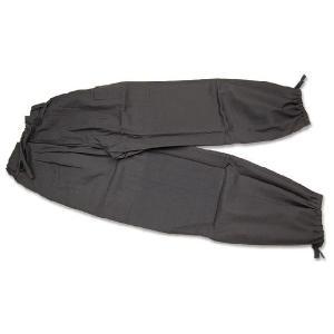 【かく宗】ガーデン作務衣パンツ-綿100% 灰黒|himeka-wa-samue