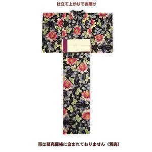 浴衣 レディース 源氏物語-紅型調浴衣 仕立て上がり  久-10限定1着|himeka-wa-samue