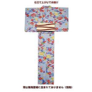 源氏物語-紅型調浴衣 仕立て上がり  久-2 限定1着|himeka-wa-samue