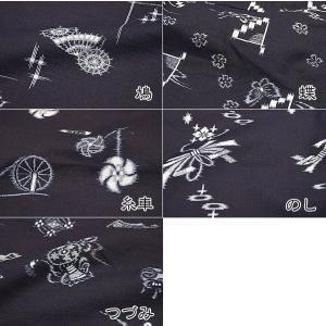 もんぺ 日本製 女性 国産本格絵絣もんぺ 袴式 パンツ himeka-wa-samue 03