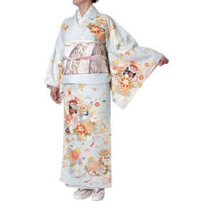着物 訪問着 女性 ジャパンスタイル 仕立て上がり 洗える着物 JL-43|himeka-wa-samue
