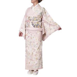 着物 訪問着 日本製 ジャパンスタイル 仕立て上がり 洗える着物 JL-81|himeka-wa-samue