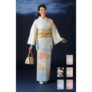 高級-仕立て上がり洗える着物 訪問着 kimono-C 5色|himeka-wa-samue