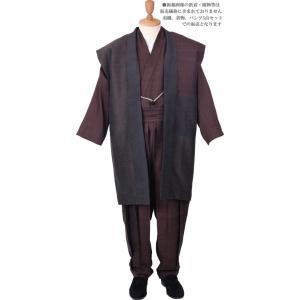 一杢 門-GATE 絹 羽織ロング丈 和風スーツ  絹雅-12 himeka-wa-samue