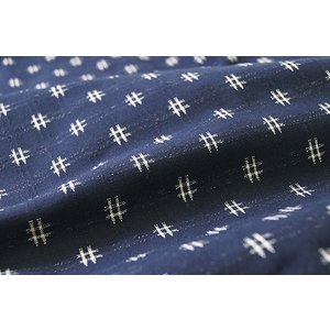 もんぺ 女性 日本製 久留米絣織り 絣柄 柄お任せ M/L/LL|himeka-wa-samue|04