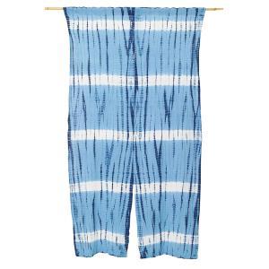 暖簾 のれん 綿100% 藍染 手絞り 手染め kn-10 himeka-wa-samue