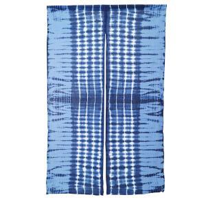 暖簾 のれん 綿100% 藍染 手絞り 手染め kn-11 himeka-wa-samue