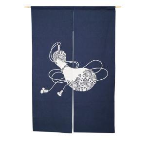 暖簾-のれん 綿100% 刺し子のれん瓢箪8932 130cm 日本製n-1031 himeka-wa-samue
