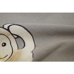 のれん ロング 暖簾 和風 綿100% ならびざる灰黒 n-422|himeka-wa-samue|02