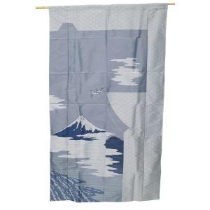 暖簾 のれん 日本製 ポリエステル100% きもの柄 扉-7052|himeka-wa-samue