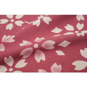 暖簾-のれん 綿100% さわらピンク n-902|himeka-wa-samue|02