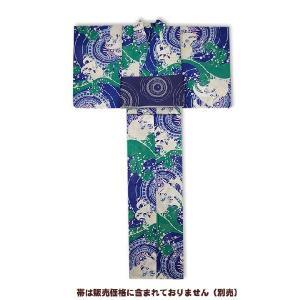 岡重-浴衣(ゆかた)仕立て上がり 帆船 30Y-15|himeka-wa-samue
