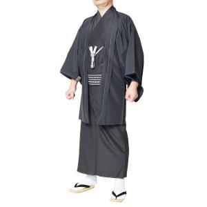 着物セット 男性 メンズ 洗える着物アンサンブル 選べる9点フルセット S〜3L|himeka-wa-samue|04