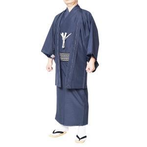 着物セット 男性 メンズ 洗える着物アンサンブル 選べる9点フルセット S〜3L|himeka-wa-samue|05