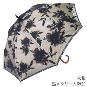 日傘 完全遮光 長傘 レース  エレガント二重張り 晴雨兼用 UVカット加工付 himeka-wa-samue 06