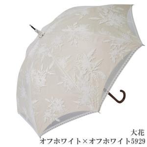 日傘 完全遮光 長傘 レース  エレガント二重張り 晴雨兼用 UVカット加工付 himeka-wa-samue 08