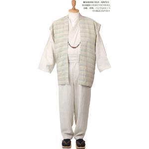 一杢 門-GATE 麻 和風スーツ 涼風-31 himeka-wa-samue