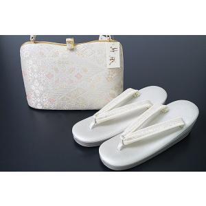 草履バッグ セット 沙織 西陣織り帯地 礼装用 SAZ-5004|himeka-wa-samue