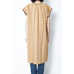 チュニック しじら織りサンドレス アッパッパー ワンピース 4135 日本製|himeka-wa-samue|07