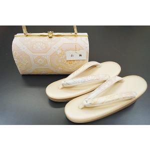 草履バッグセット 和装 白梅 帯地 SI 11 値下げ セール|himeka-wa-samue