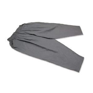 【かく宗】作務衣ゆったりパンツ-綿100% 灰|himeka-wa-samue|02