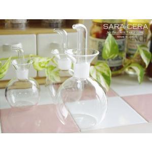 ★内容:耐熱ガラス ソースボトルL( 調味料入れ ソース入れ ) ★サイズ:φ45(最大φ77)×高...