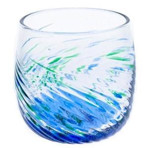 ★内容:琉球ガラス 群星モールグラス ★サイズ:Φ7.5×8cm ★素材:ガラス ★日本製:琉球ガラ...