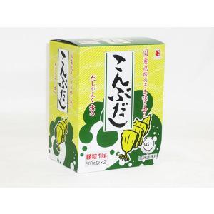 こんぶだし 500g×2袋|himono-takaokaya