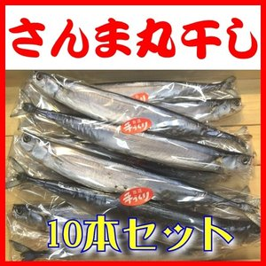 サンマ丸干し 2本入×5Pセット(計10本)