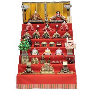 雛人形 十五人揃 七段飾り 京七番 (15人) 183to2076 小出松寿 名匠