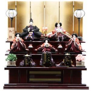 雛人形 五人三段飾り 有職束帯[it-1057]