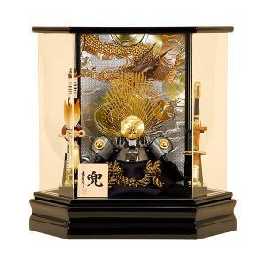 五月人形 兜ケース飾り【人形の佳月】 K-131 織田信長 送料無料
