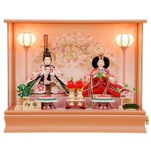 雛人形 ひな人形 K101 コンパクト 人形の佳月 雛人形 雛 ケース飾り 雛 親王飾り 雛名匠・逸品飾り 高級品【2020年新作】