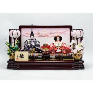 雛人形 【親王飾り】 ひな人形 「久住雛」|hinanokoei