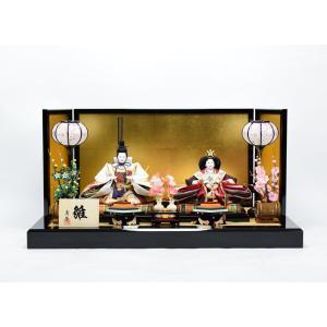 雛人形 【親王飾り】 ひな人形 「小三五親王」|hinanokoei